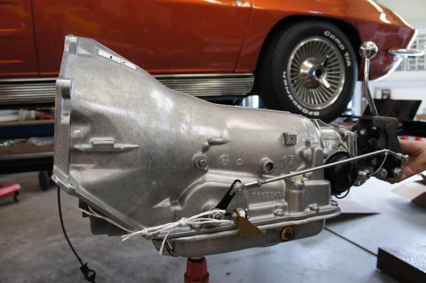 Transmission Conversions :: Corvette Kingdom