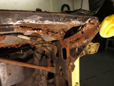 1972 Birdcage rust