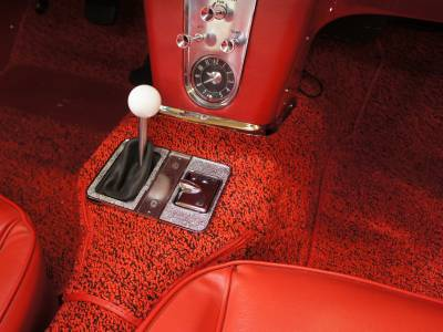1961 Shifter console and carpet replacement