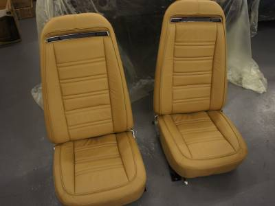 1976 Leather seat covers