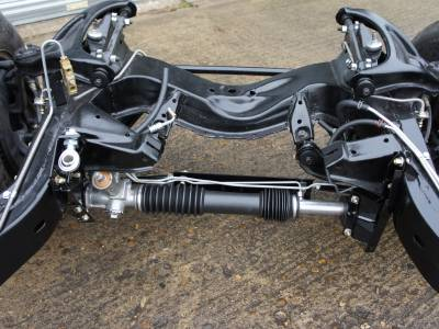 1969 Steeroids rack and pinion steering conversion