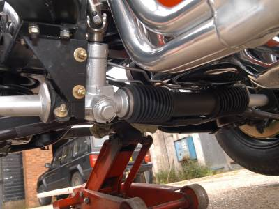 1970 Steeroids rack and pinion steering conversion