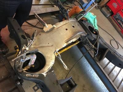 1972 Front crossmember repair