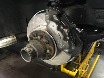 1964 Front disc brake conversion