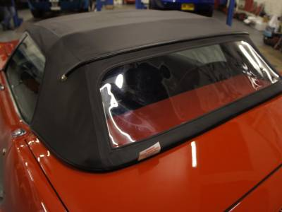 Soft top installation and frame restoration