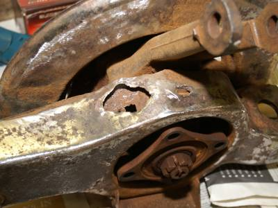 1973 Trailing arm rust