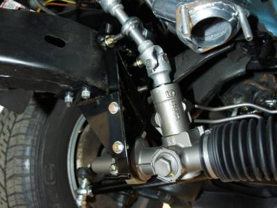1978 Steeroids rack and pinion steering conversion