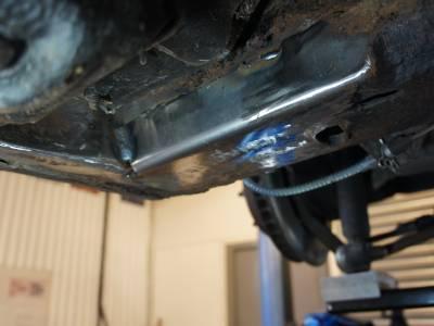 1976 Chassis repair